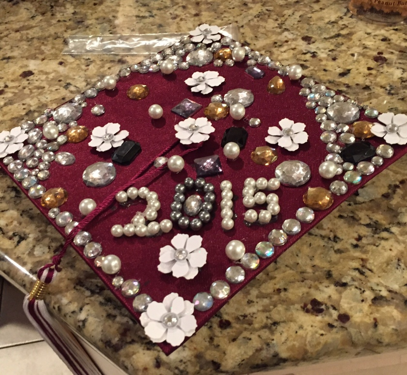 Congrats to Older Son and his girl--Class of 2015 high school graduates!